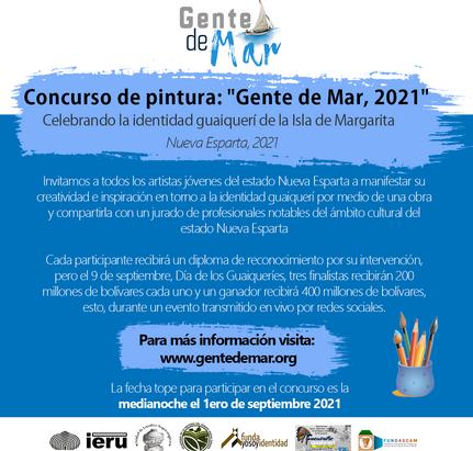 Concurso de pintura: 'Gente de Mar 2021': Bases