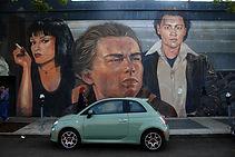 Leonardo de Caprio on Russell Avenue Mur