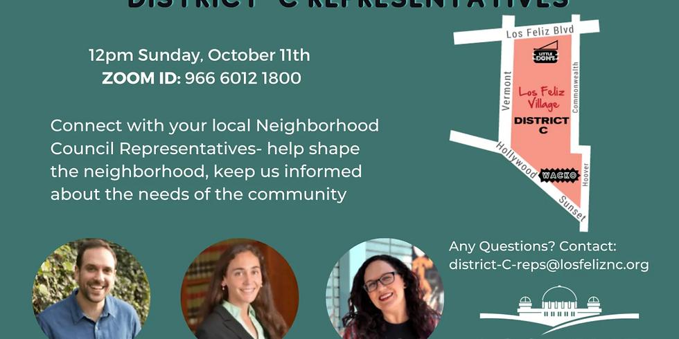 Virtual Community Coffee Talk — District C