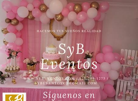 SyB Eventos.Si lo imaginas… Lo hacemos realidad
