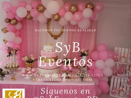SyB Eventos RD. Si lo imaginas… Lo hacemos realidad.