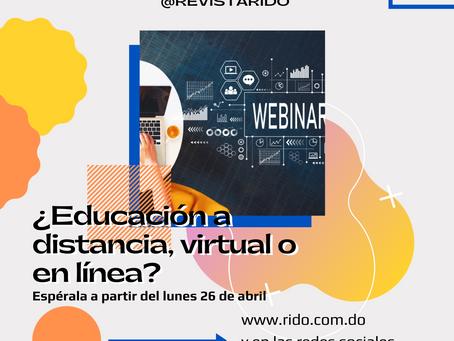 ¿Educación a distancia, virtual o en línea?