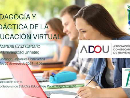 Pedagogía y Didáctica de la Educación Virtual
