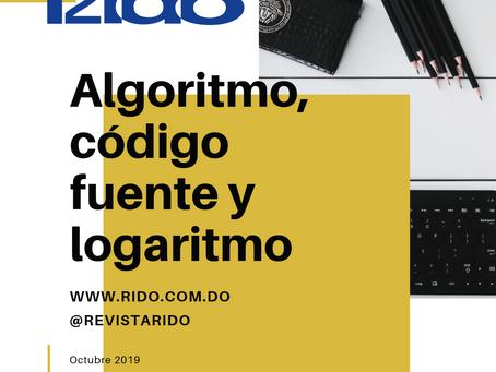 Algoritmo, código fuente y logaritmo