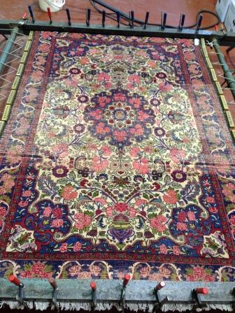 Restauración de alfombras