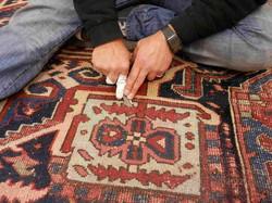 restauración alfombras antiguas