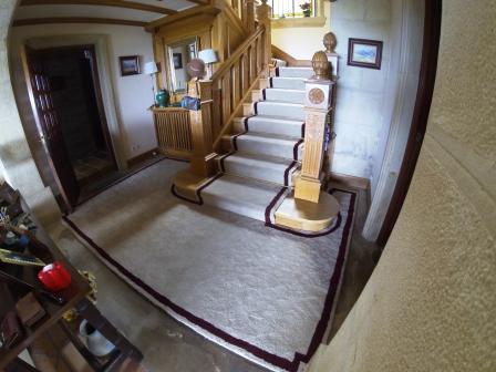 Confección de alfombras
