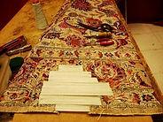 Restauración alfombra