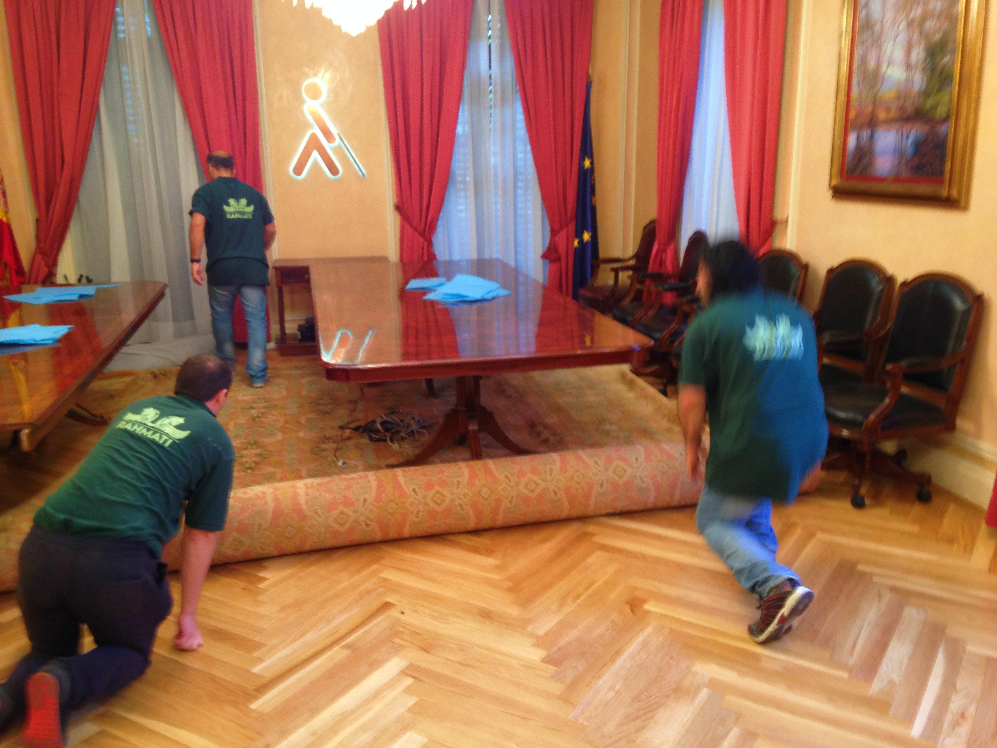 Mantenimiento de alfombras Once