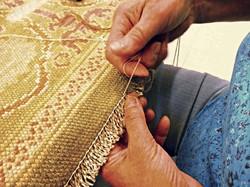 restauración alfombras españolas