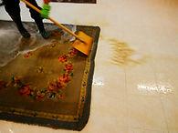 limpieza tapiz