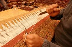 restauración alfombras persas