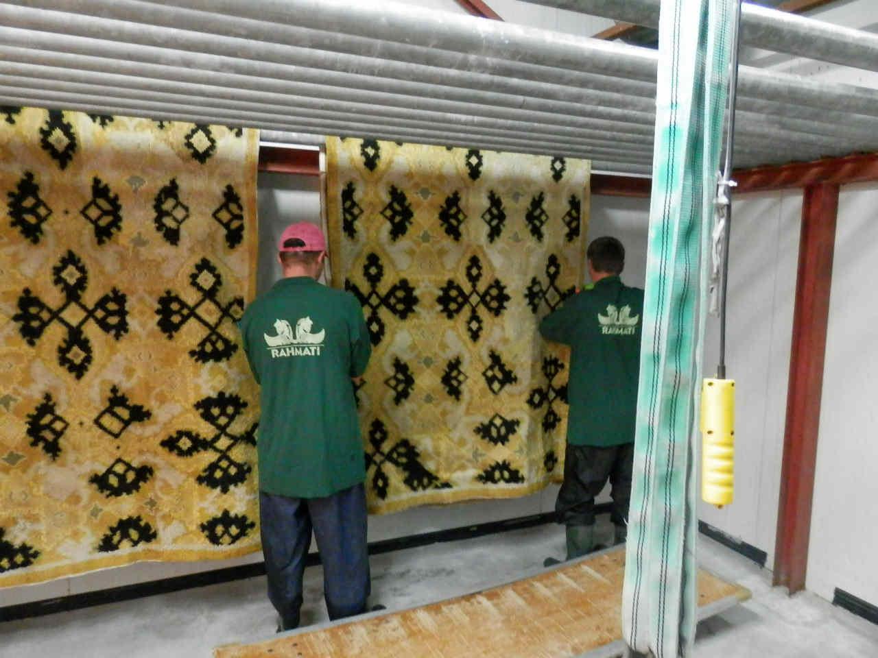 limpieza alfombras orientales