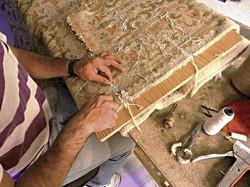 restauración alfombras madrid