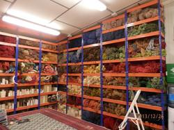 taller de restauración de alfombras