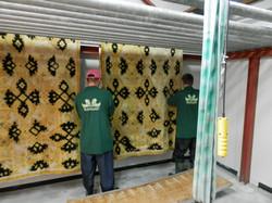 Limpieza de alfombras sucias
