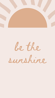 marley sue free wallpaper - be the sunshine (pink).png