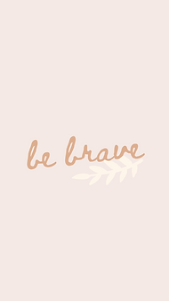 marley sue free wallpaper - be brave (pink).png