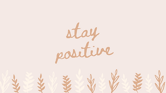marley sue free wallpaper - stay positive (pi