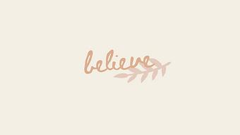 marley sue free wallpaper - believe (yellow).