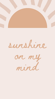 marley sue free wallpaper - sunshine on my mind (pink).png