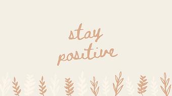 marley sue free wallpaper - stay positive (ye