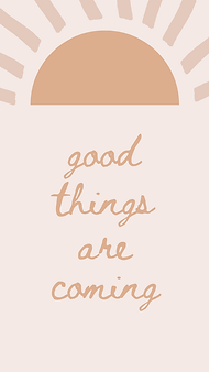 marley sue free wallpaper - good things are coming (pink).png