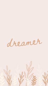 marley sue free wallpaper - dreamer (pink).png