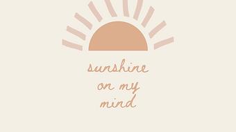 marley sue free wallpaper - sunshine on my mi