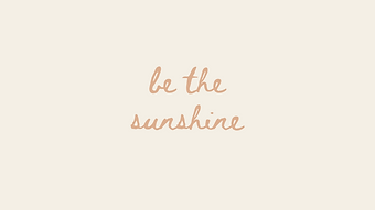 marley sue free wallpaper - be the sunshine (