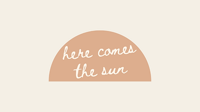 here comes the sun (yellow) - marley sue
