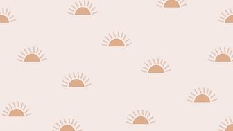 marley sue free wallpaper - baby suns (pink).