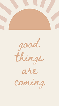 marley sue free wallpaper - good things are coming (yellow).png