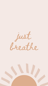 just breathe (pink) - marley sue free wa