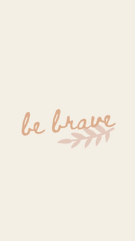 marley sue free wallpaper - be brave (yellow).png