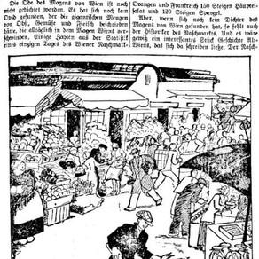 """Pretiosen: """"Der Magen Wiens"""" oder Der Wiener Naschmarkt ist wie Janus"""