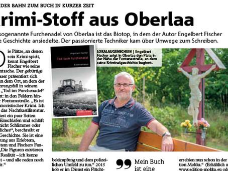 Tod beim Furchenadel im Wiener Bezirksblatt