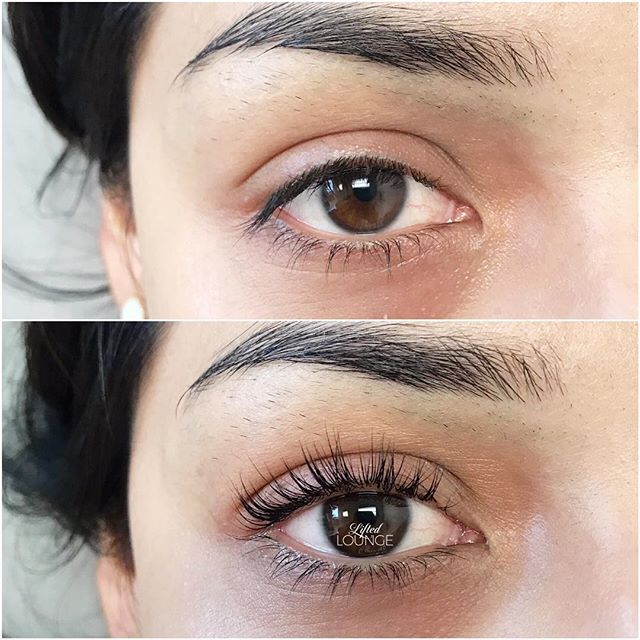 Lash Lift on these beautiful straight la