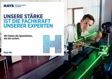 Hays AG Recruiting experts worldwide Personaldienstleistung