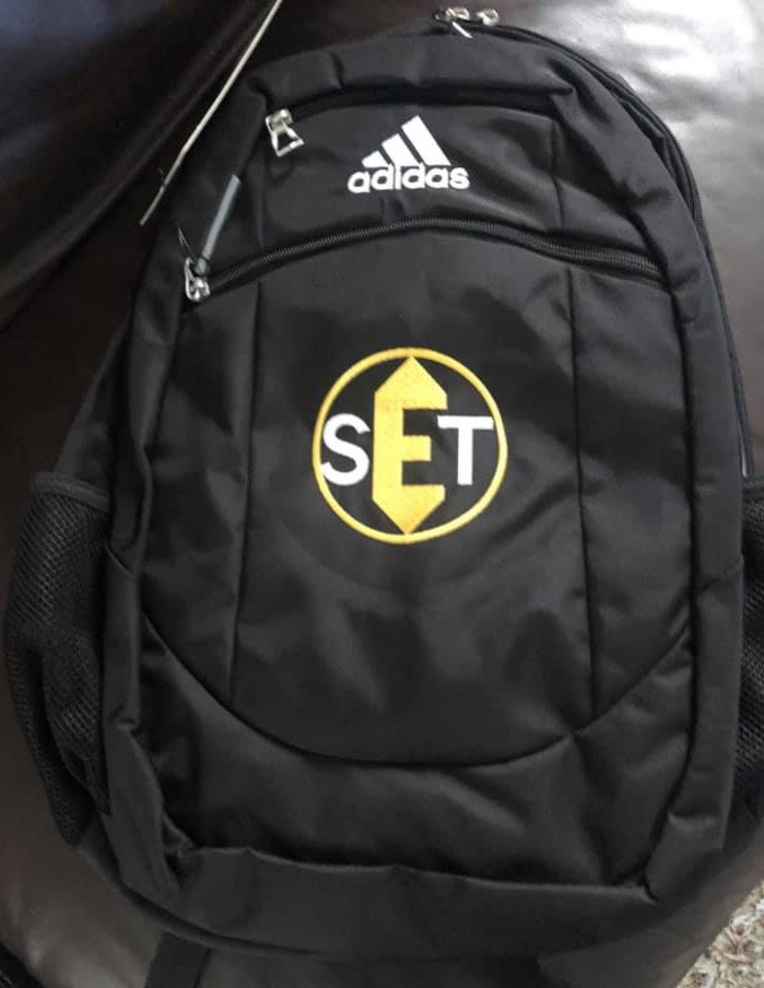 EST Adidas Backpack - Embroidered