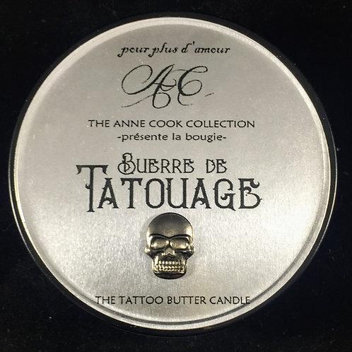 4 oz Beurre de Tatouage Tattoo Butter Candle
