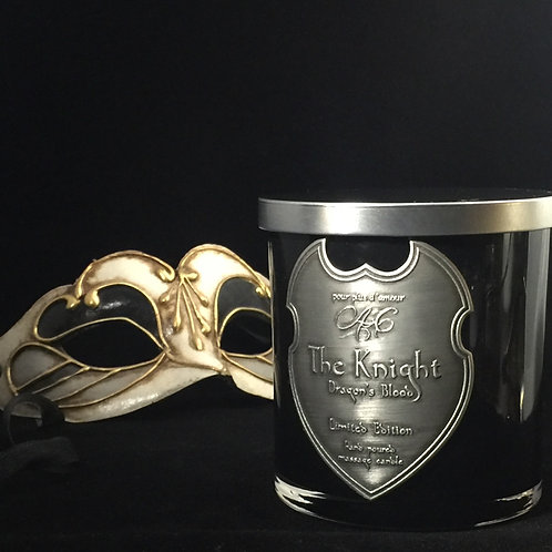 The Knight Lux Massage Body Candle