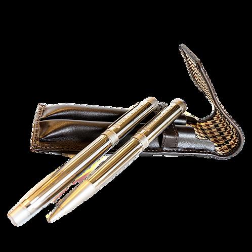 Vapor Ministries Engraved Cutter & Buck Pen Set