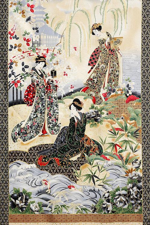 Garden Geisha Panel