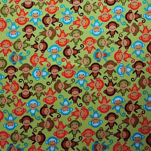 Monkeys on Green