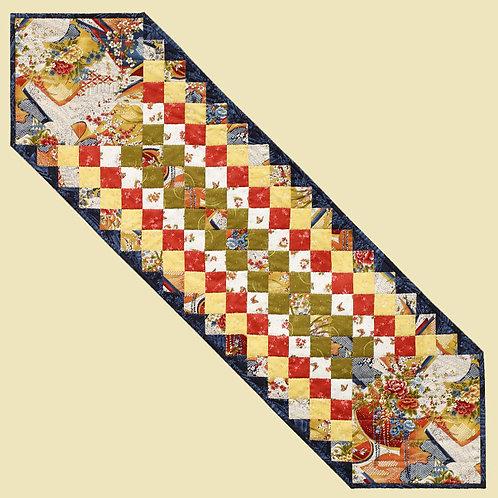 Japanese Garden Table Runner (Pattern)