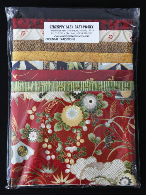 Oriental Traditions (Quilt Kit)