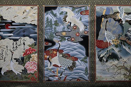 Triple Crane Panel B