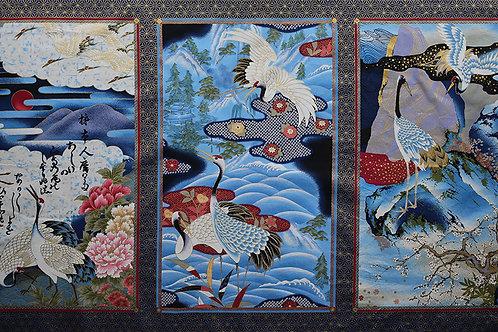 Triple Crane Panel A