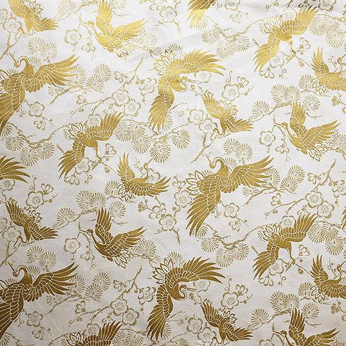 QH Large Crane Gold Cream